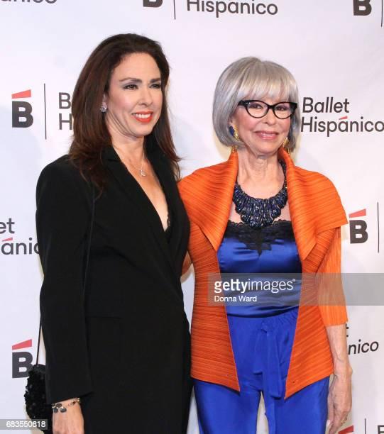 Fernanda Gordon Fisher and Rita Moreno attend the Ballet Hispanico 2017 Carnaval Gala at The Plaza Hotel on May 15 2017 in New York City