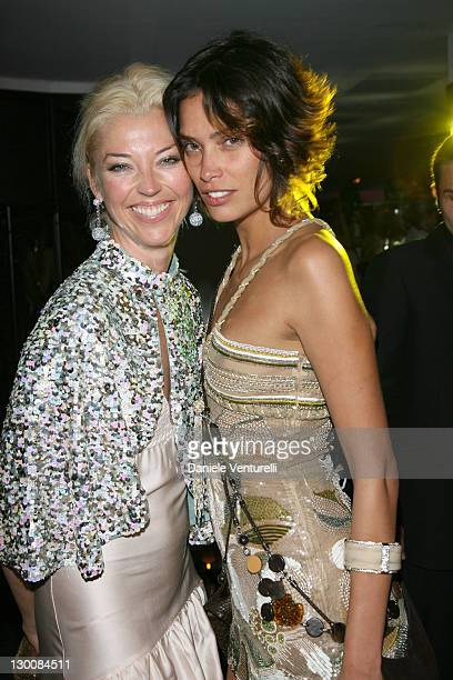 Fernanda Lessa and Tamara Beckwith during 2006 Cannes Film Festival de Grisogono Party at Hotel Du Cap in Cannes France