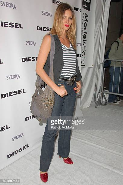 Fernanda Lima attends A Night Out with Diesel Celebrating the Reopening of Flagship Store at Diesel Union Square Gotham Hall on September 13 2006 in...