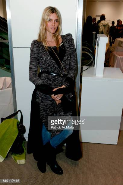 Fernanda Lima attends TOOLS FOR THOUGHT REBUILD HAITI With Special Performance By PATTI SMITH at Sotheby's on March 15 2010 in New York City