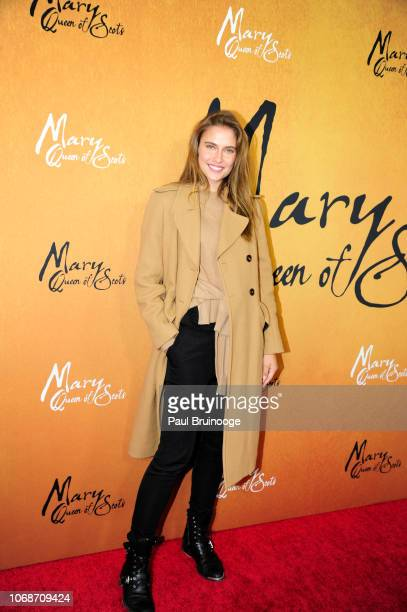 Fernanda Liz attends Focus Features Hosts The New York Premiere Of Mary Queen Of Scots at Paris Theater on December 4 2018 in New York City