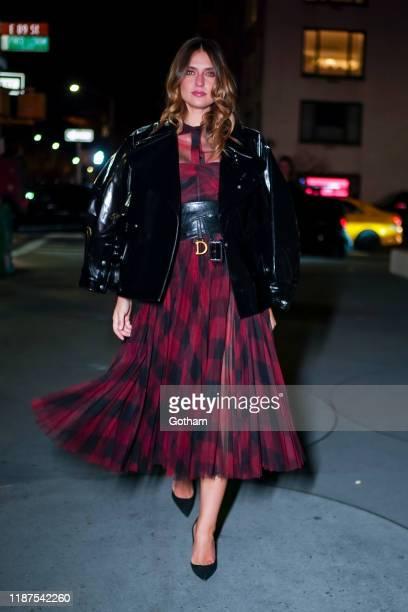 Fernanda Liz attends the 2019 Guggenheim International Gala on November 13 2019 in New York City