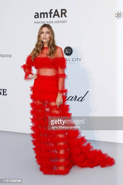 Fernanda Liz attends the amfAR Cannes Gala 2019 at Hotel du CapEdenRoc on May 23 2019 in Cap d'Antibes France