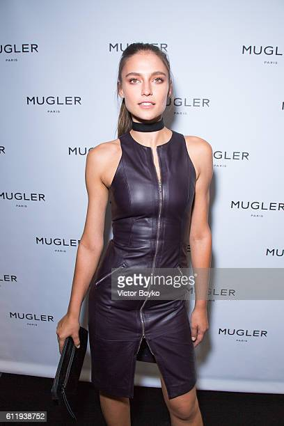 Fernanda Liz attends the Mugler Paris Store Opening Cocktail Party as part of the Paris Fashion Week Womenswear Spring/Summer 2017 on October 1 2016...