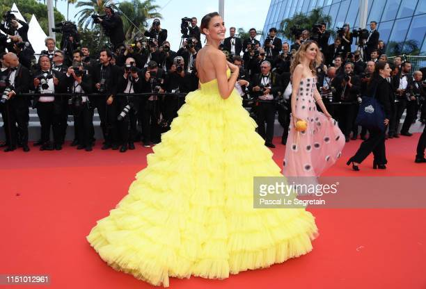 Fernanda Liz attends the screening of Oh Mercy during the 72nd annual Cannes Film Festival on May 22 2019 in Cannes France