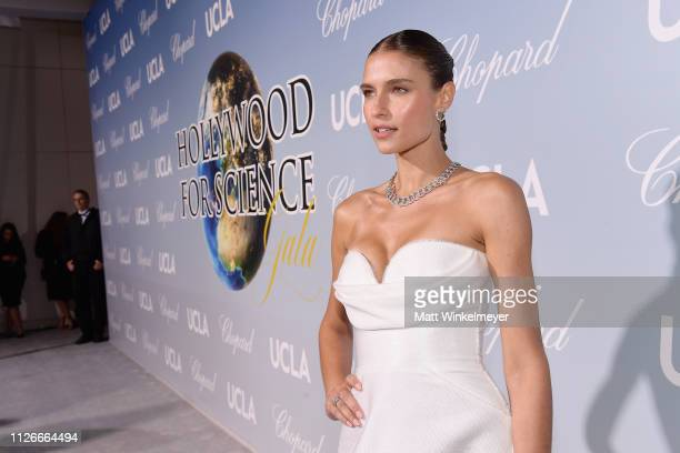 Fernanda Liz attends the UCLA IoES honors Barbra Streisand and Gisele Bundchen at the 2019 Hollywood for Science Gala on February 21 2019 in Beverly...