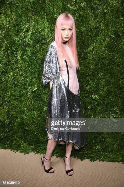 Fernanda Ly attends the 14th Annual CFDA/Vogue Fashion Fund Awards at Weylin B Seymour's on November 6 2017 in the Brooklyn borough of New York City...