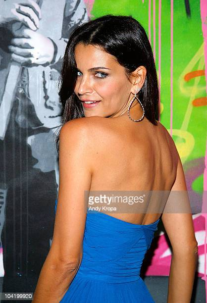Fernanda Motta attends the LAMB Spring 2011 fashion show after party during MercedesBenz Fashion Week at Private Location on September 16 2010 in New...