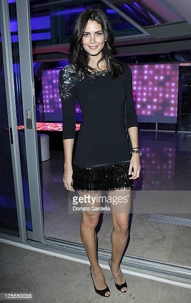 Fernanda Motta attends Vogue Dinner Celebrating The Book Launch Of 7 For All Mankind's The Seven Senses on November 11 2010 in Beverly Hills...