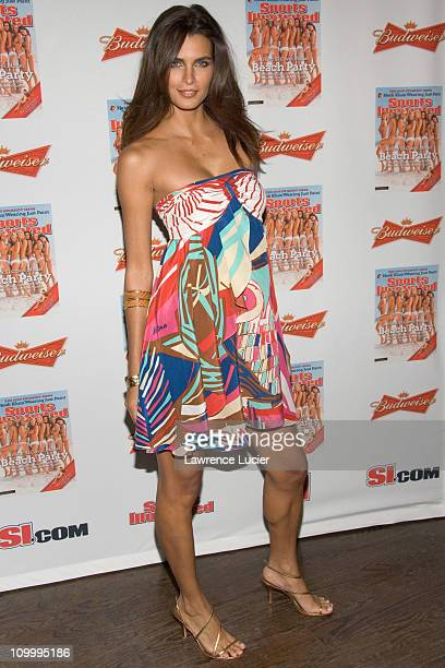 Fernanda Motta during 2006 Sports Illustrated Swimsuit Issue Press Conference at Crobar in New York City New York United States