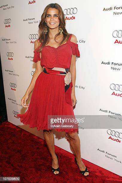 Fernanda Motta during Audi Celebrated the North American Debut of the R8 Sports Car and the Grand Opening of the New York City Audi Forum at New York...
