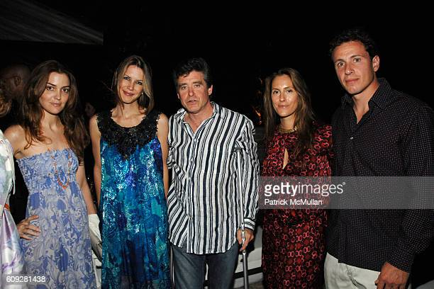 Fernanda Niven Sasha Lazard Jay McInerney Cristina Greeven Cuomo and Chris Cuomo attend GUCCI Cristina Chris Cuomo and Stephanie and David Wolkoff's...