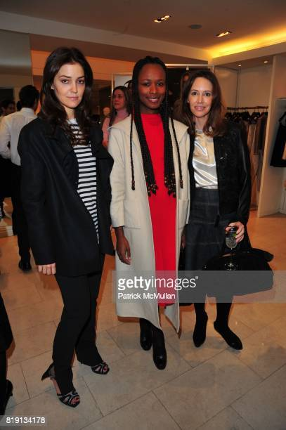 Fernanda Niven Shala Monroque and Samantha Boardman Rosen attend VALENTINO Spring/ Summer 2010 Collection Private Luncheon and Presentation hosted by...