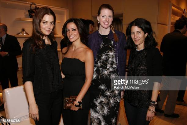 Fernanda Niven Shoshanna Gruss Karen Duffy and Amanda Ross attend ROGER VIVIER Cocktail to celebrate 'Miss Viv' handbag collection hostedby FABIOLA...