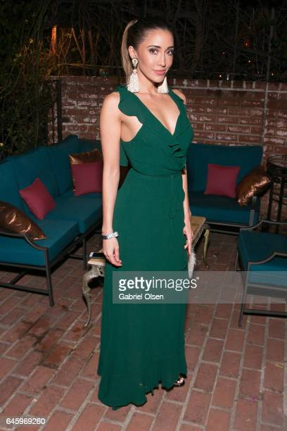 Fernanda Romero attends the Circus Magazine Oscars Celebration Hosted By Steve Shaw and Jonas Tahlin CEO Absolut Elyx Sponsored by Volvo and Vaseline...