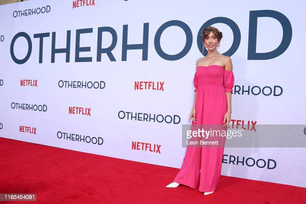 Fernanda Romero attends the Photo Call For Netflix's Otherhood at the Egyptian Theatre on July 31 2019 in Hollywood California