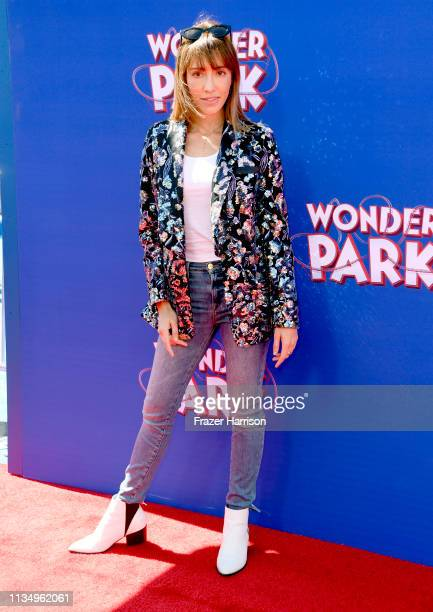Fernanda Romero attends the premiere of Paramount Pictures' Wonder Park at Regency Bruin Theatre on March 10 2019 in Los Angeles California