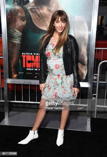 Fernanda Romero attends the premiere of Warner Bros Pictures' Tomb Raider at TCL Chinese Theatre on March 12 2018 in Hollywood California