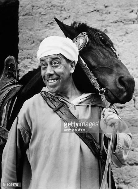 Fernandel *Schauspieler Frankreich in dem Film 'Ali Baba' 1954