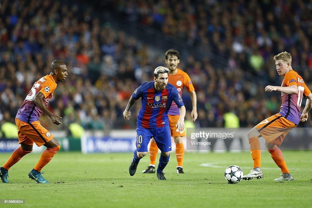 "UEFA Champions League""FC Barcelona v Manchester City"" : News Photo"