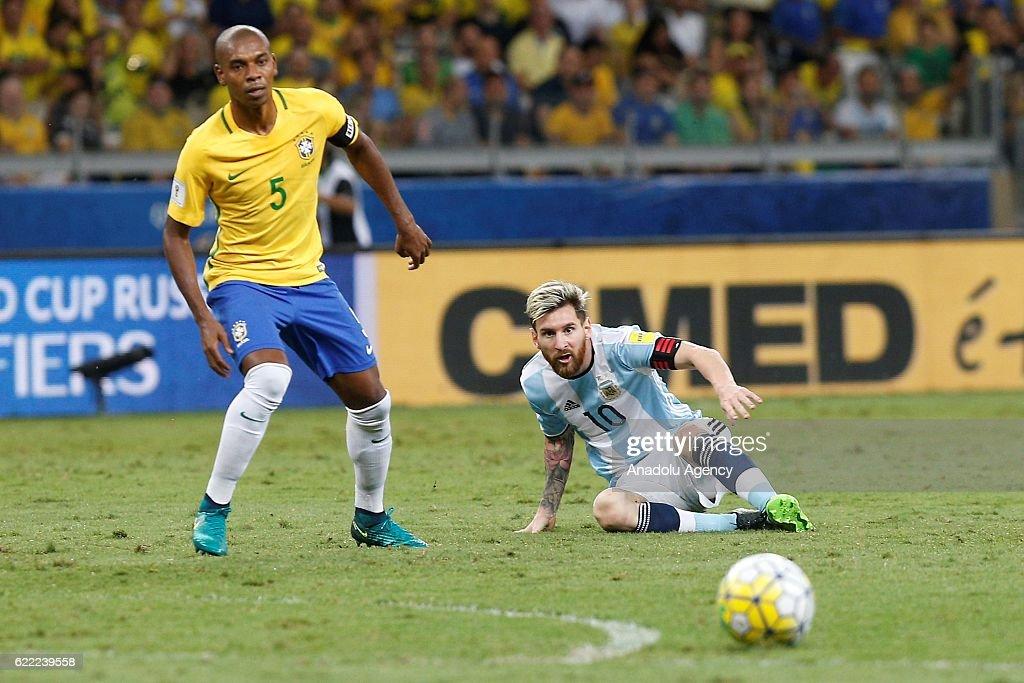 Brazil vs Argentina: FIFA 2018 World Cup Qualifier : News Photo
