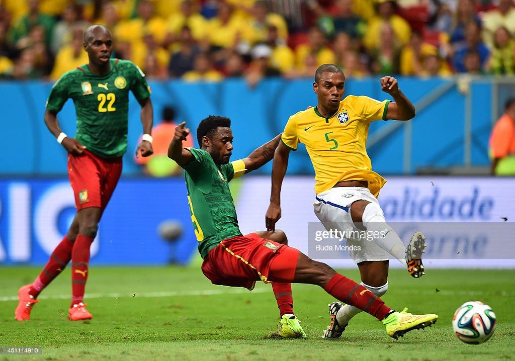Cameroon v Brazil: Group A - 2014 FIFA World Cup Brazil : ニュース写真