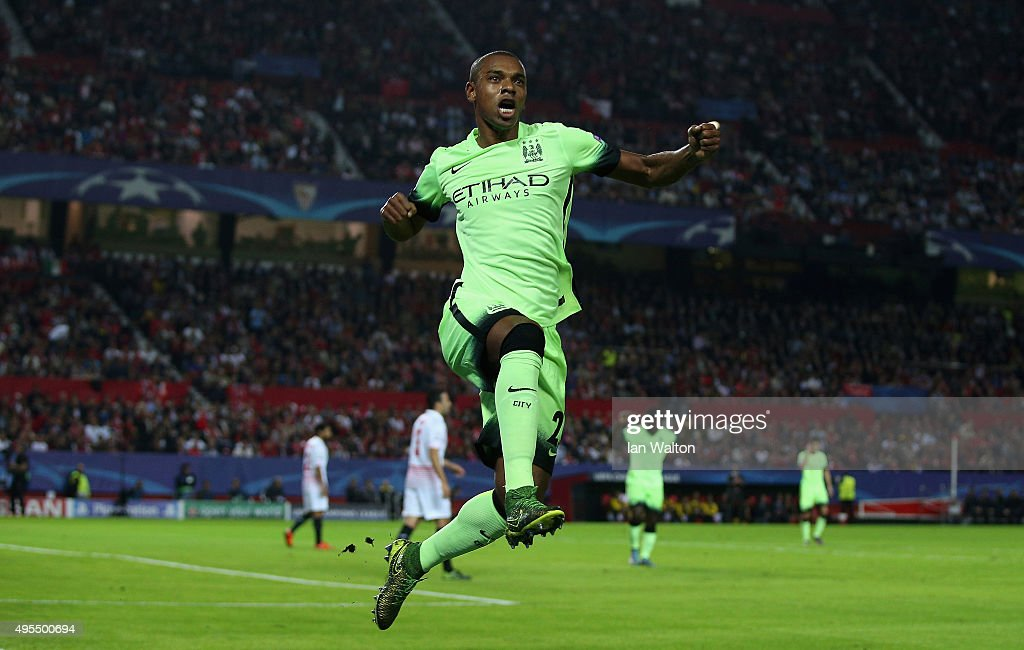 Sevilla FC v Manchester City FC - UEFA Champions League