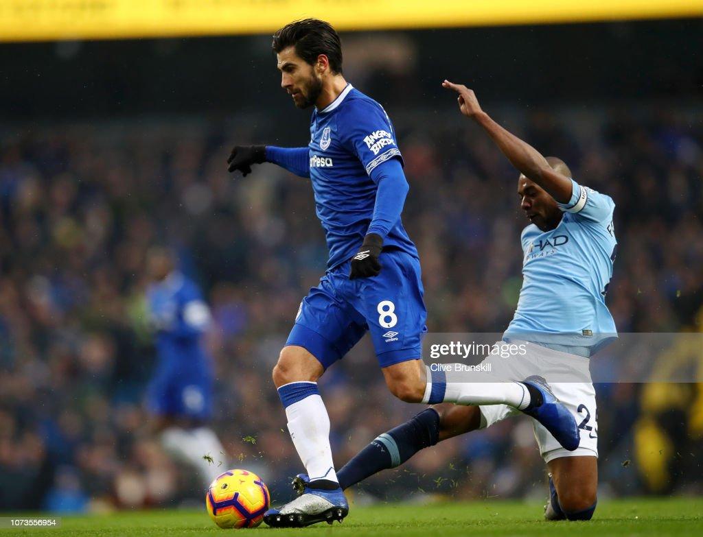 Manchester City v Everton FC - Premier League : News Photo