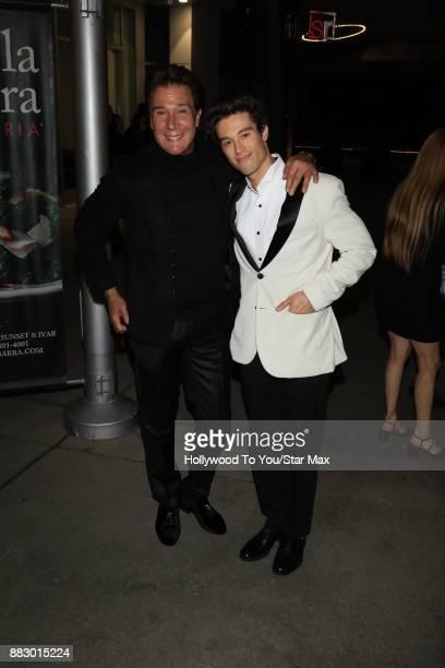 Fernando Allende and Adan Allende are seen on November 29 2017 in Los Angeles CA