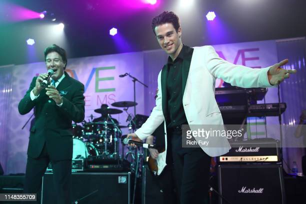 Fernando Allende and Adán Allende perform onstage during the 26th annual Race to Erase MS on May 10 2019 in Beverly Hills California