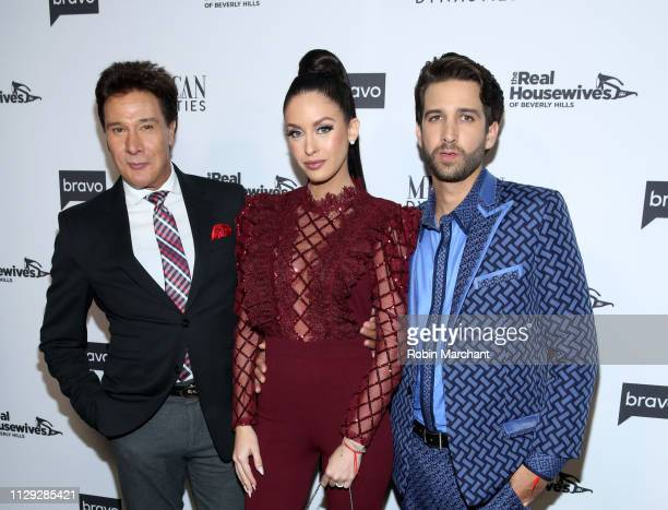 Fernando Allende Jenny Allende and Elan Allende attend Bravo's Premiere Party for The Real Housewives of Beverly Hills Season 9 and Mexican Dynasties...
