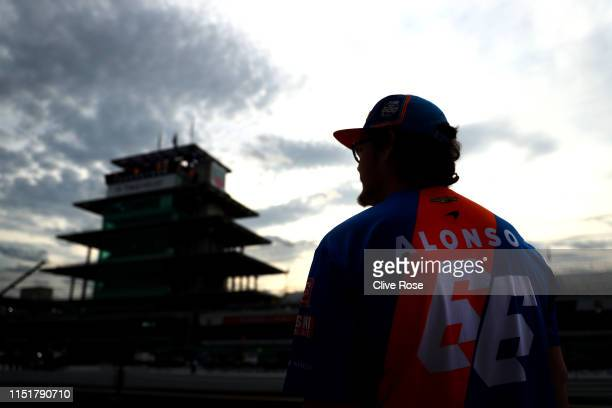 Fernando Alonso fan looks on prior to the running of the 103rd Indianapolis 500 at Indianapolis Motor Speedway on May 26, 2019 in Indianapolis,...