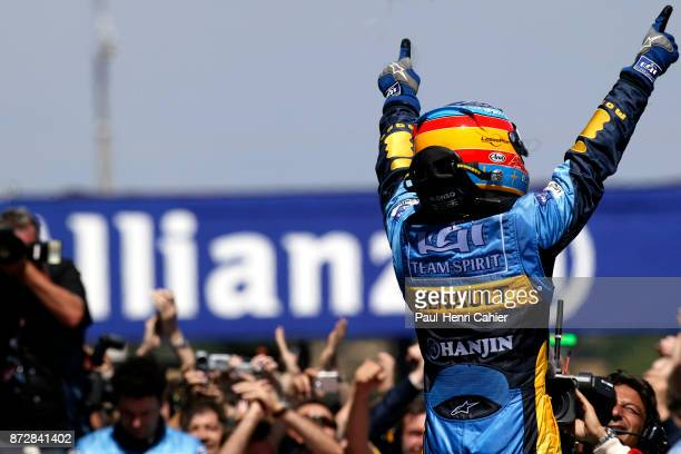 Fernando Alonso Grand Prix of France Circuit de Nevers MagnyCours 03 July 2005