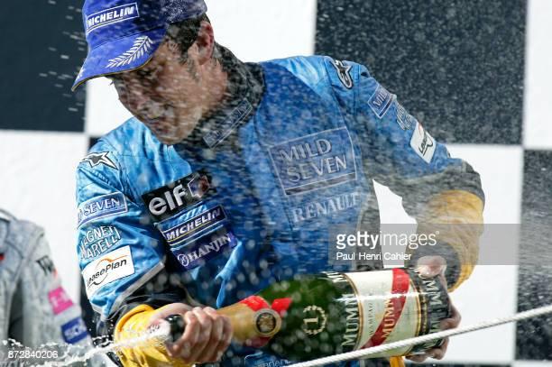 Fernando Alonso, Grand Prix of Hungary, Hungaroring, 24 August 2003.