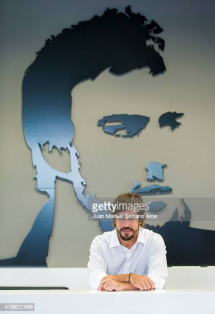 Fernando Alonso inaugurated the Fernando Alonso Museum on June 26 2015 in Oviedo Spain