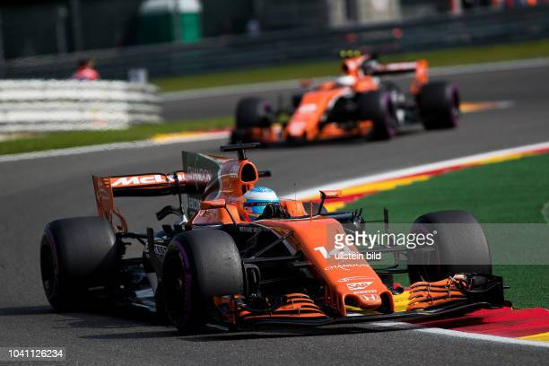 Fernando Alonso McLaren Honda formula 1 GP Belgien in Spa
