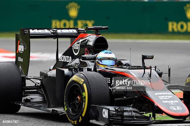 Fernando Alonso McLaren Honda formula 1 GP Italien in Monza