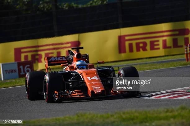 Fernando Alonso McLaren Honda formula 1 GP Japan in Suzuka