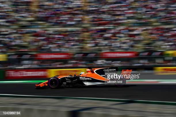 Fernando Alonso McLaren Honda formula 1 GP Mexiko Mexiko Stadt
