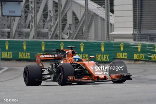 Fernando Alonso McLaren Honda formula 1 GP Singapore