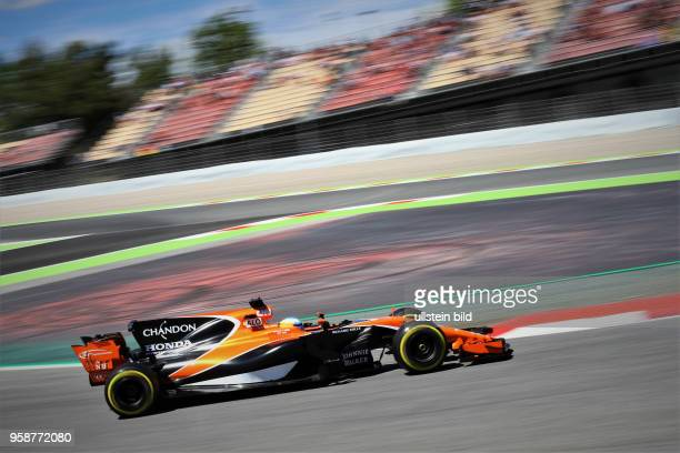 Fernando Alonso, McLaren Honda, formula 1 GP, Spanien in Barcelona Photo:mspb/Fabian Werner