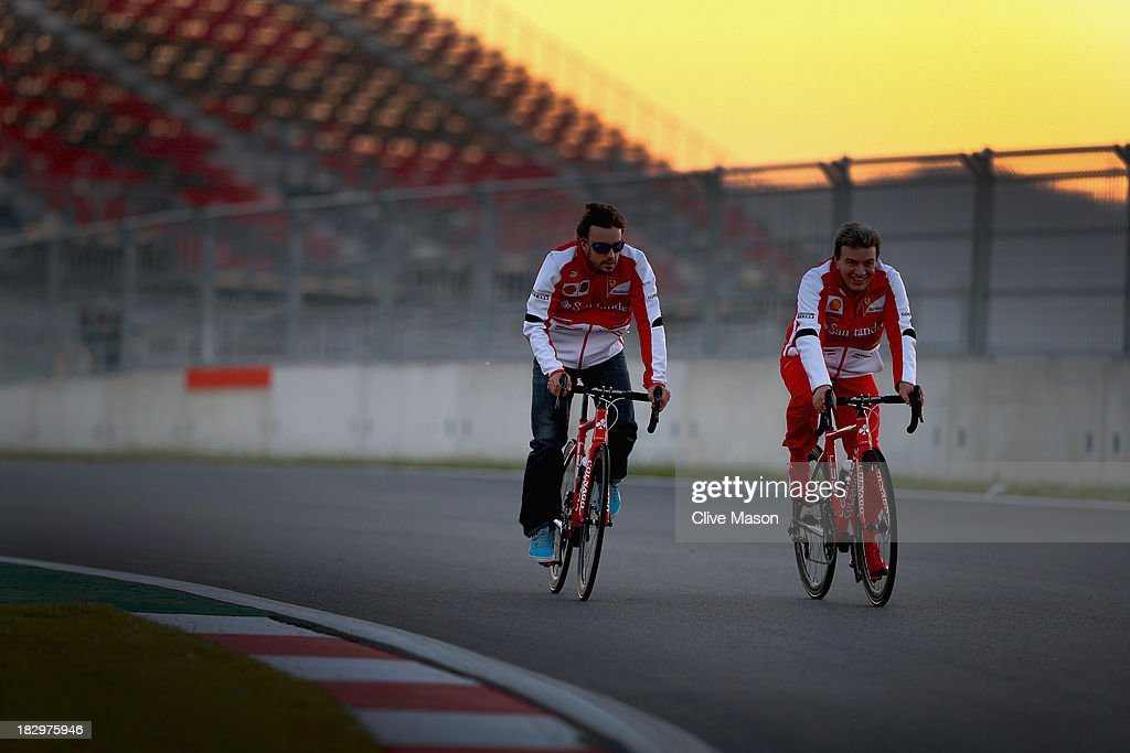 F1 Grand Prix of Korea - Previews : News Photo