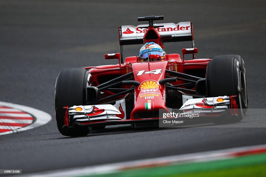 F1 Grand Prix of Japan - Qualifying : News Photo