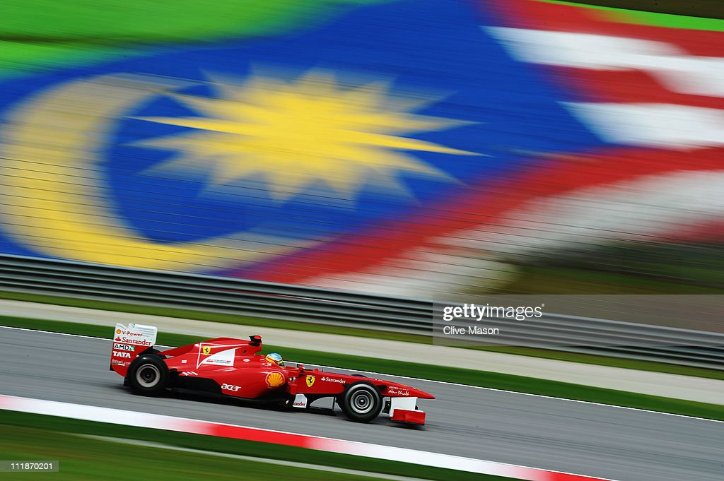 Malaysian F1 Grand Prix - Practice : News Photo
