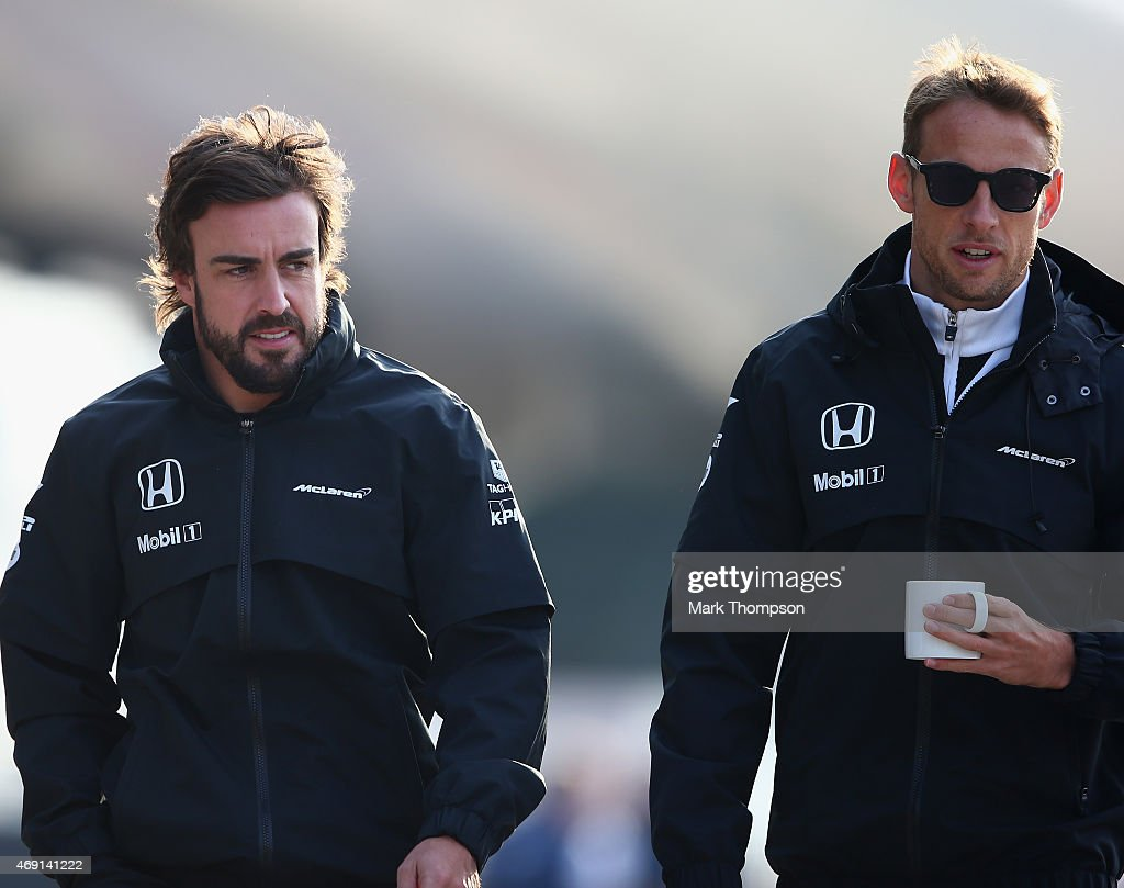 F1 Grand Prix of China - Practice : News Photo