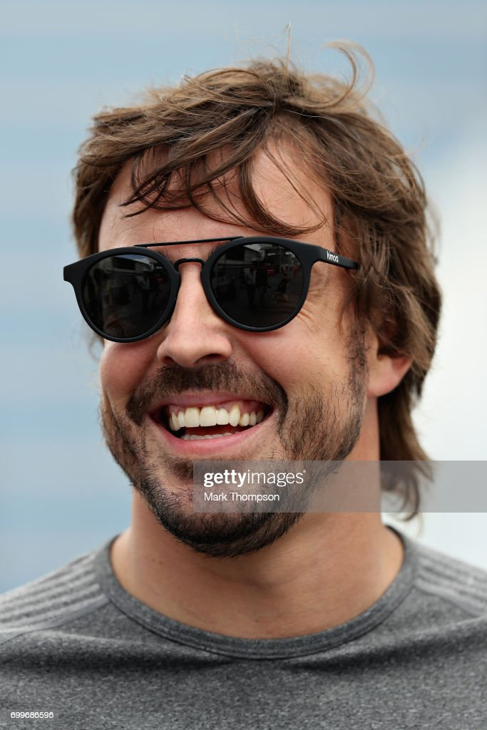 Fernando Alonso of Spain and McLaren Honda during previews ahead of the European Formula One Grand Prix at Baku City Circuit on June 22, 2017 in Baku, Azerbaijan.