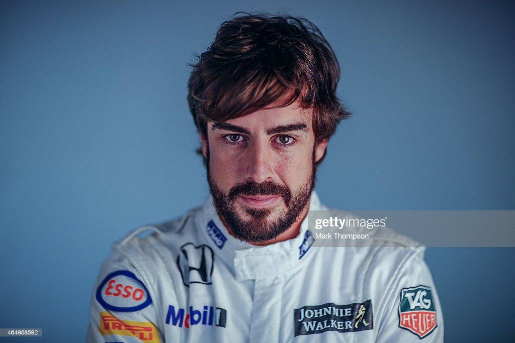 F1 Testing In Barcelona - Day Three : News Photo