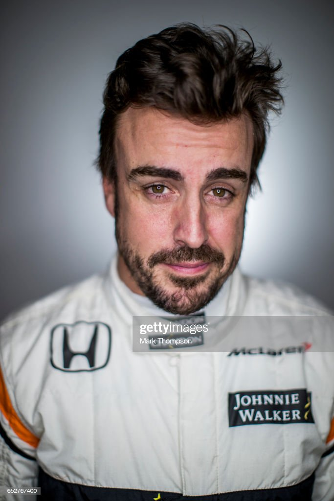 Fernando Alonso of Spain and McLaren Honda poses for a portrait during day three of Formula One winter testing at Circuit de Catalunya on March 9, 2017 in Montmelo, Spain.