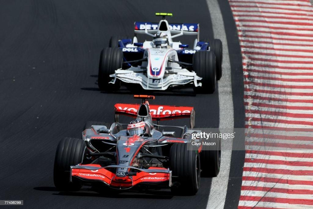 Brazilian Formula One Grand Prix: Race : News Photo