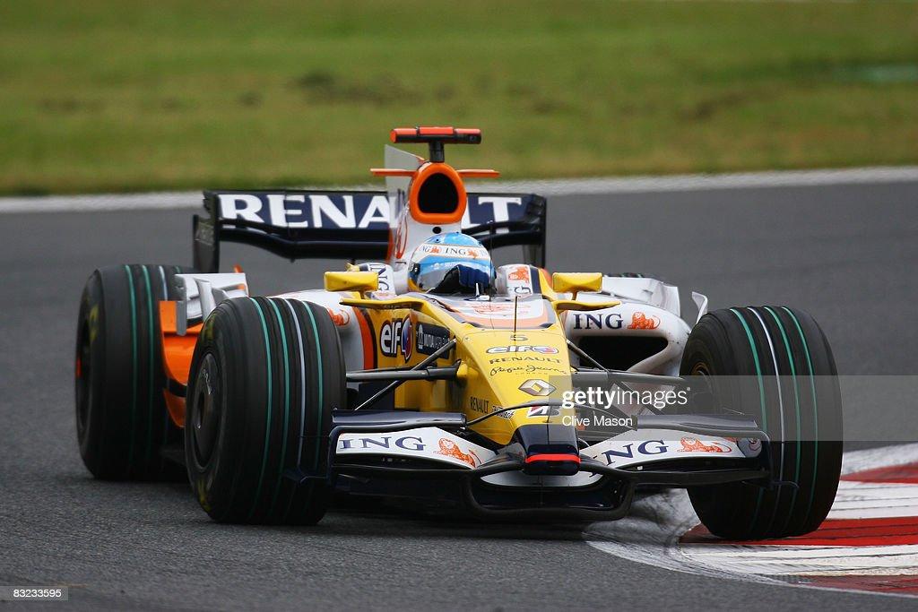 Japanese Formula One Grand Prix: Race : News Photo